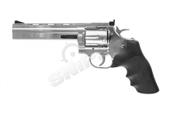 "Revolver Dan Wesson 715 6"" low power silver"