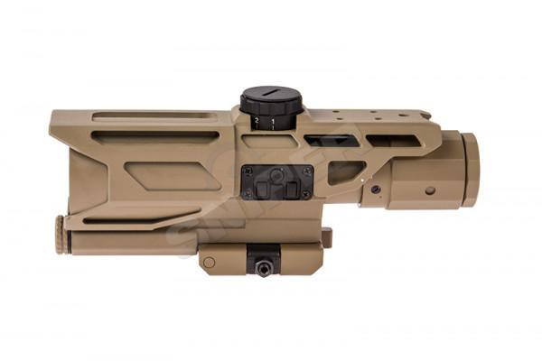 Mark III 3-9X40 Tactical Scope, Tan