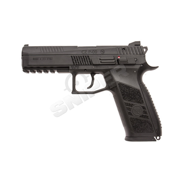 CZ P-09 Polymer Version Black, GBB