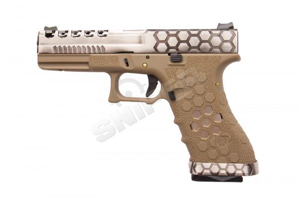 VX0110 Hex Cut Pistol, GBB