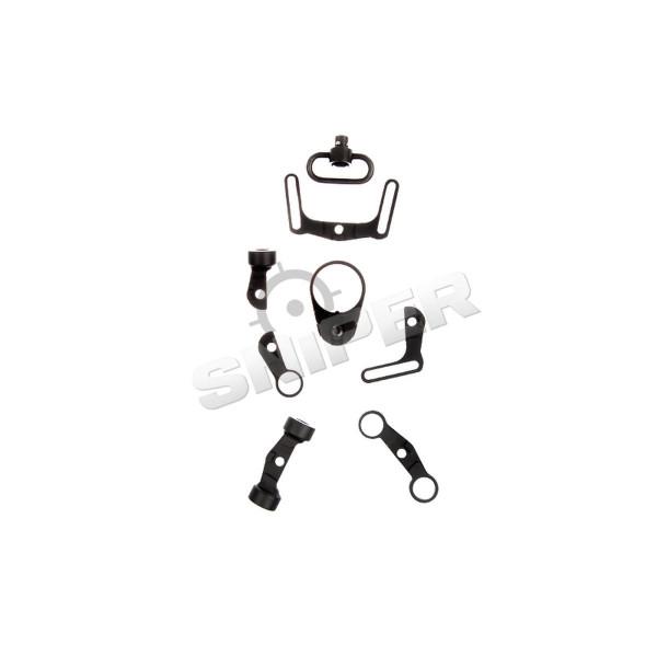 Multi-Function Sling Swivel für GBB M4, black