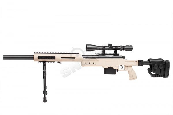 MB4410 Sniper Rifle Full Set, TAN