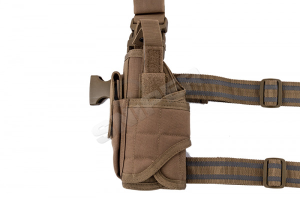 Tornado Tactical Leg Holster links, Coyote Brown