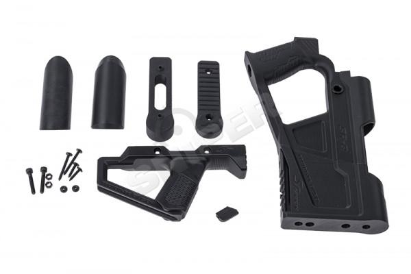 AR15 GBB Advanced Carbine Kit, Black