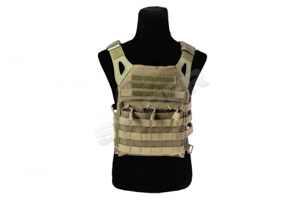 Molle Compact Plate Carrier, OD Green