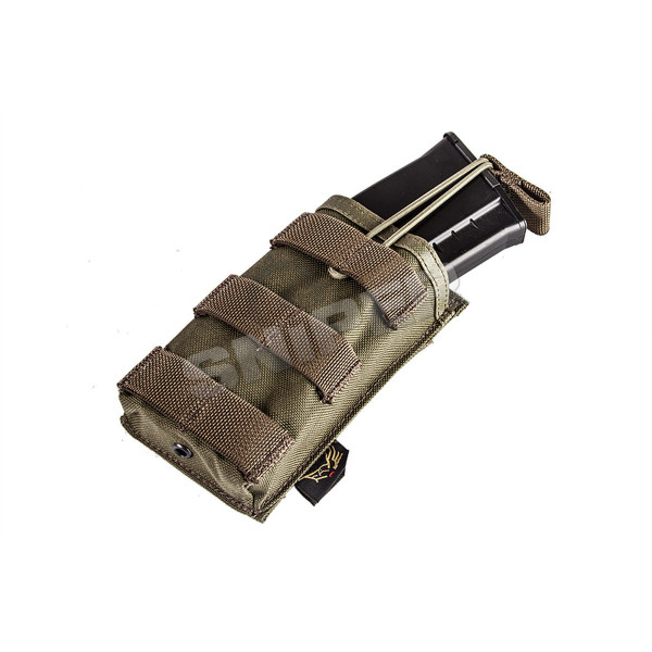 EV Universal Single Mag Pouch, Ranger Green