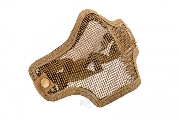 V Tactical 2G Mask Wire Mesh, Tan