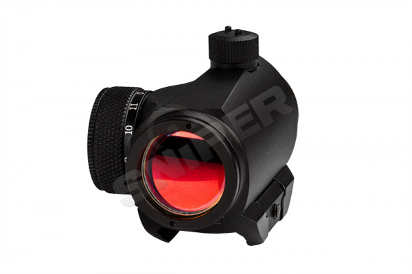 T1 Red Dot mit Low Mount, Black