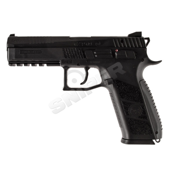 CZ P-09 Black, GBB