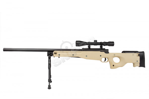 MB01 Sniper Rifle Full Set, Tan