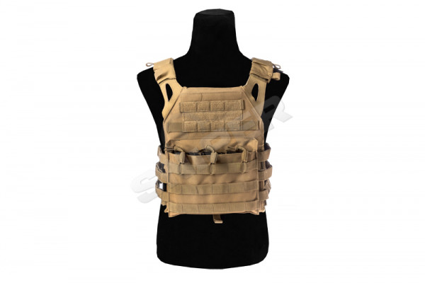 Molle Compact Plate Carrier, Tan