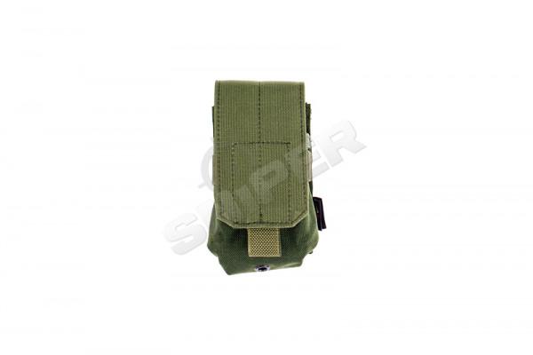 Single M14 / AR10 Mag Pouch, OD Green