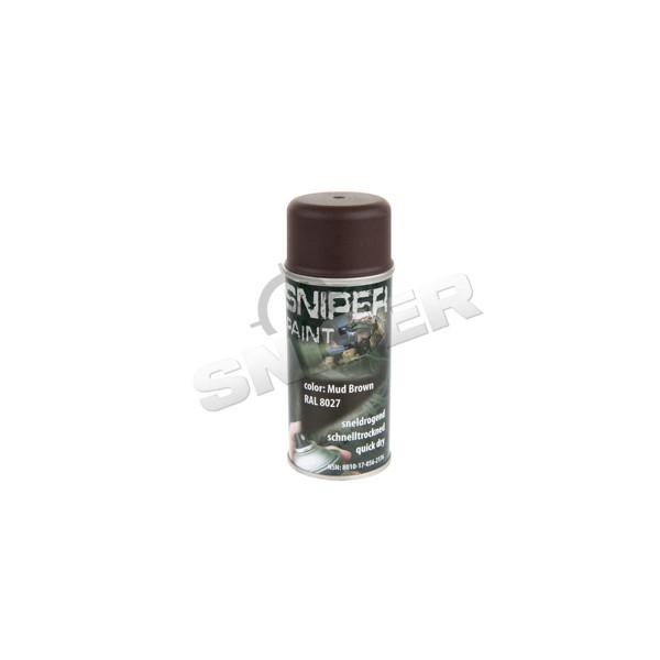 Sprühfarbe 150ml, Mud Brown