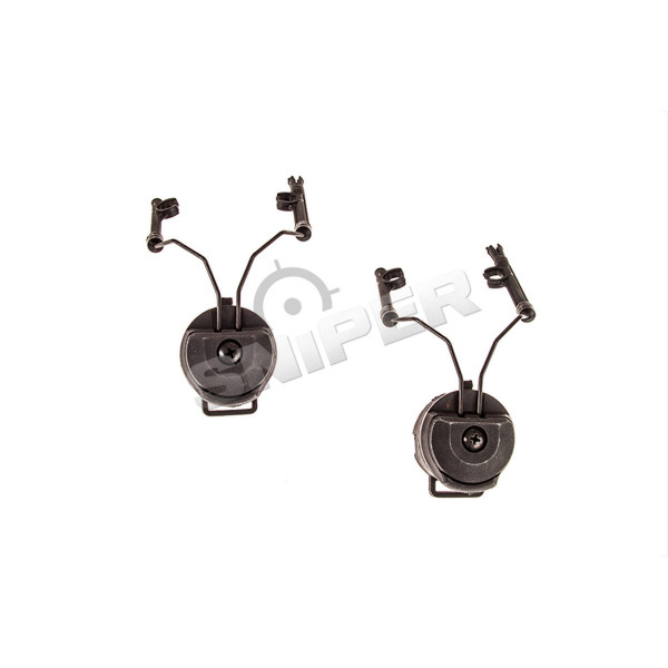 Helm Rail Adapter für Mod. I Headsets, BK