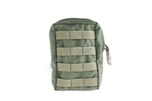 Vertical Accessories Pouch, OD Green