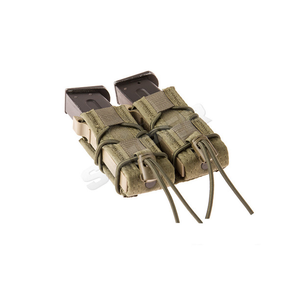 Double Pistol Taco Molle Pouch, OD Green
