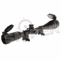 6-24x50 Scope with Mount, red/blue/green