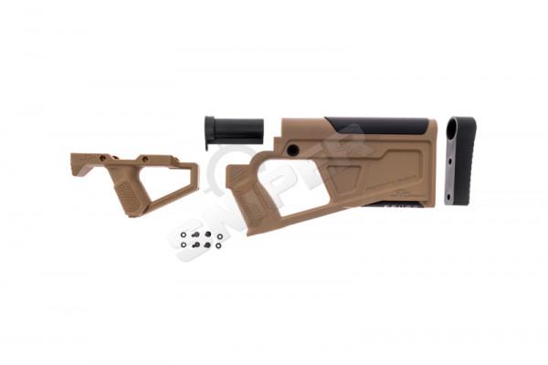 AR15 AEG Advanced Carbine Kit, Tan