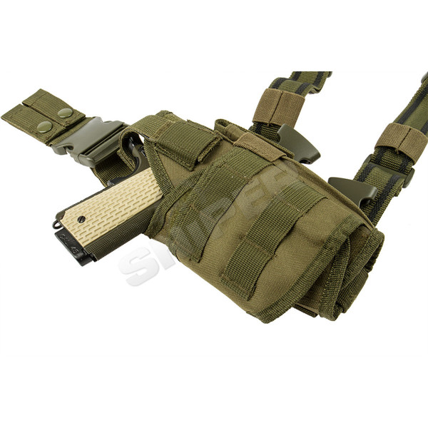 Modular Drop Leg Holster OD Green