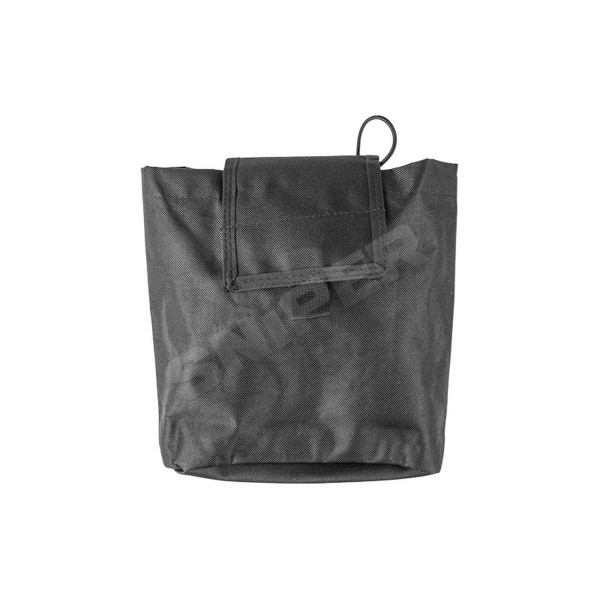 Folding Dump Pouch Black