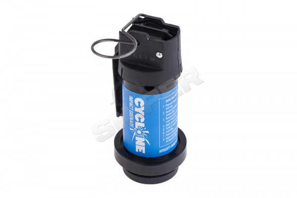Cyclone Impact Grenade, Gas