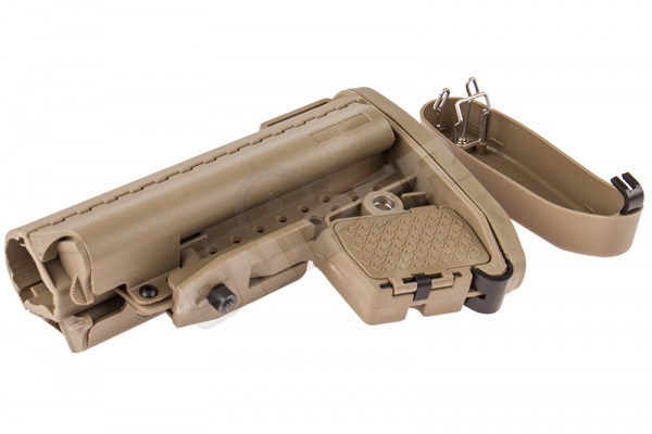 CQB Clubfoot Modstock Design, Tan