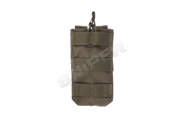 Single M4 Open-Top Mag Pouch, OD Green