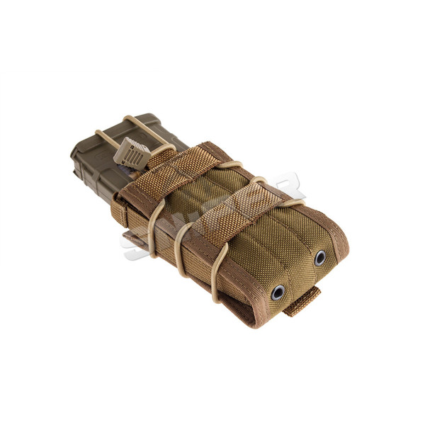 BIB M4/M16 Single Mag Pouch, Coyote Brown