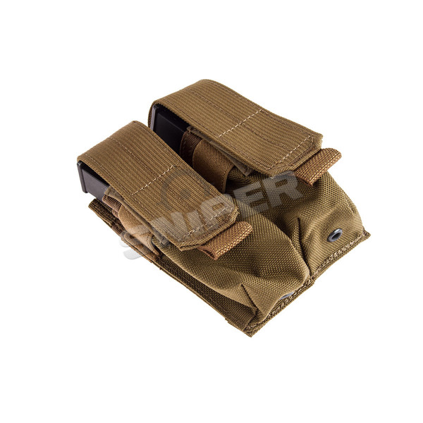 Double 9mm Mag Pouch, Coyote Brown