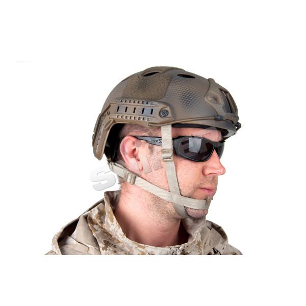 PJ Helmet, SEALS CUSTOM. Mount geschraubt