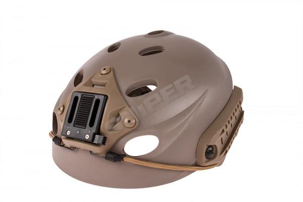 Special Forces Recon Helmet, Dark Earth