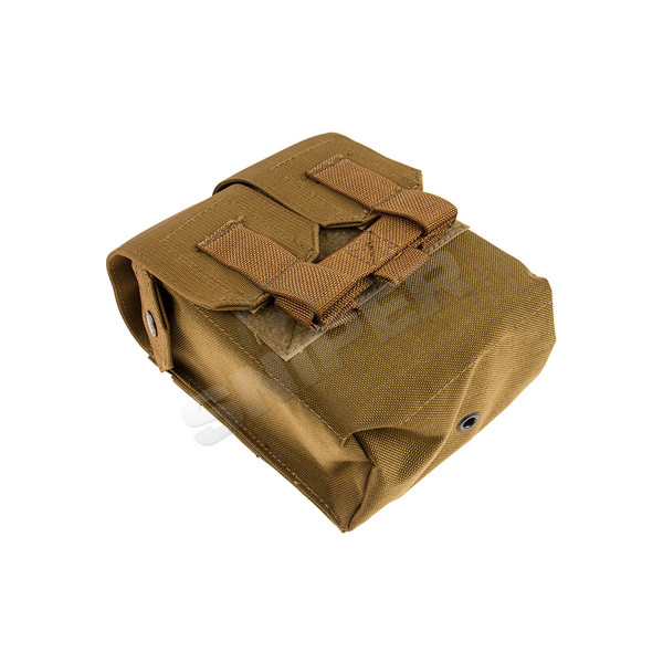 M249 200 Rds Ammo Pouch, Coyote Brown
