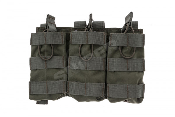 Triple M4 Fast Mag Pouch, OD Green