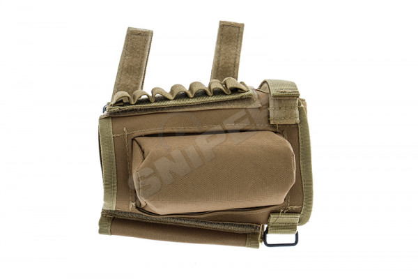 Sniper Rifle Ammo Stock Pouch, OD Green