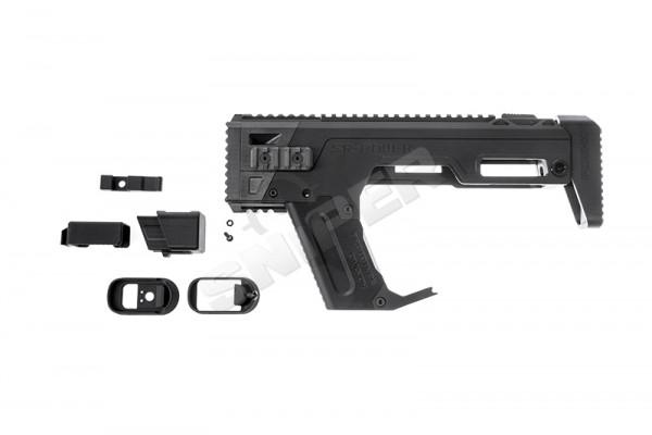PDW-K Kit für Glock 17 GBB Serie, Black