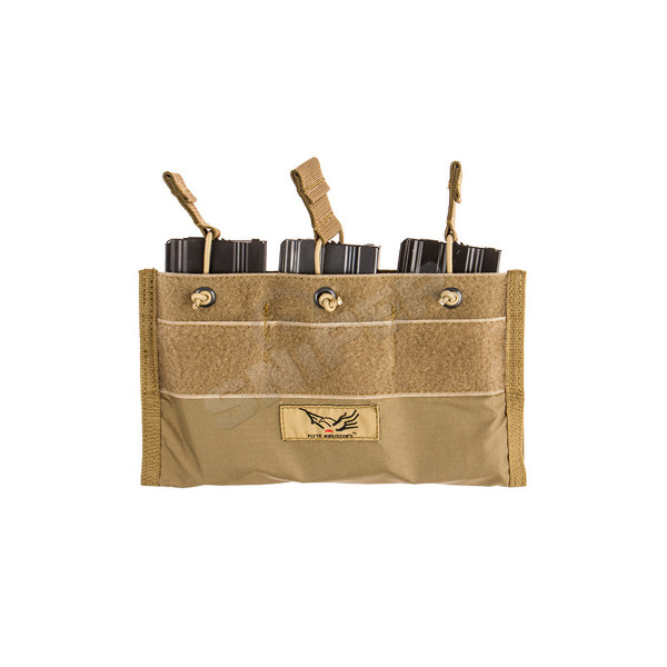Built-In Triple 5.56 Mag Pouch, Khaki