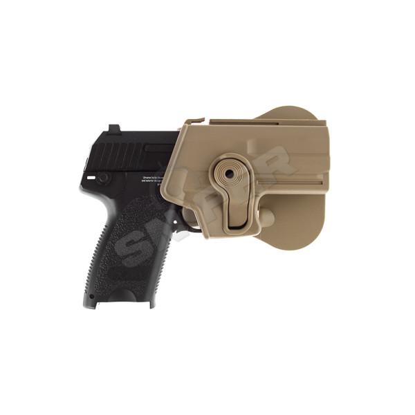 Holster für H&K USP Compact, Tan