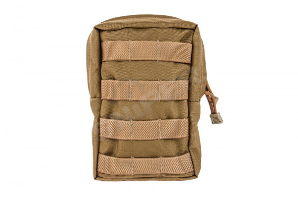 Vertical Accessories Pouch, Coyote Brown