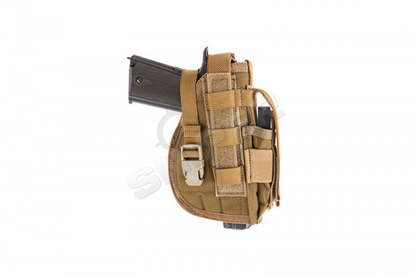 Molle Pistol Holster, Coyote Brown