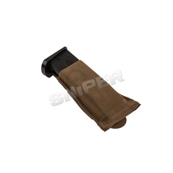 Helium Whisper Ten Speed Single Pistol Pouch, Coyo
