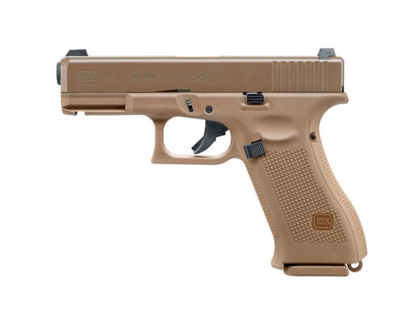 Glock19X, GBB, Tan
