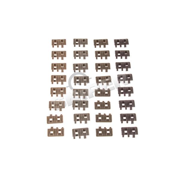 X Rail Panel, 4er Set (BK,DE,FG,OD)