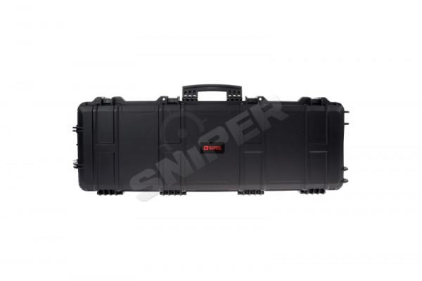 100cm Large Trolley Hard Case Pick 'n Plug, Black
