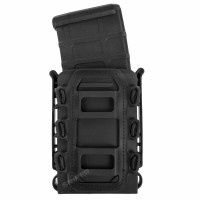 PMC Rifle Open Mag Pouch V2, Black