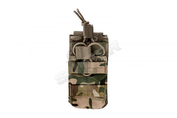 Single M4 Open-Top Stacker Mag Pouch, Multicam