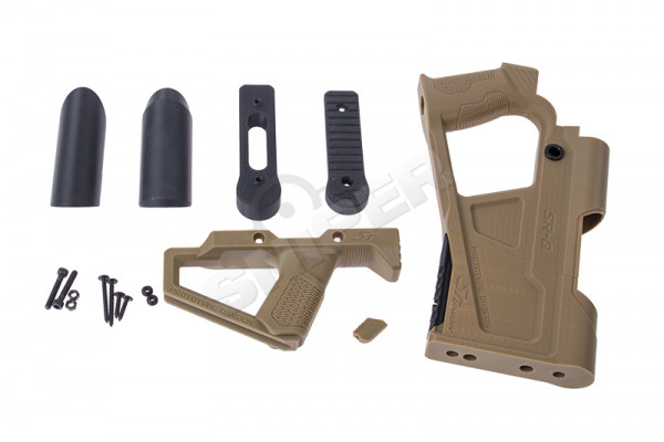 AR15 GBB Advanced Carbine Kit, Tan