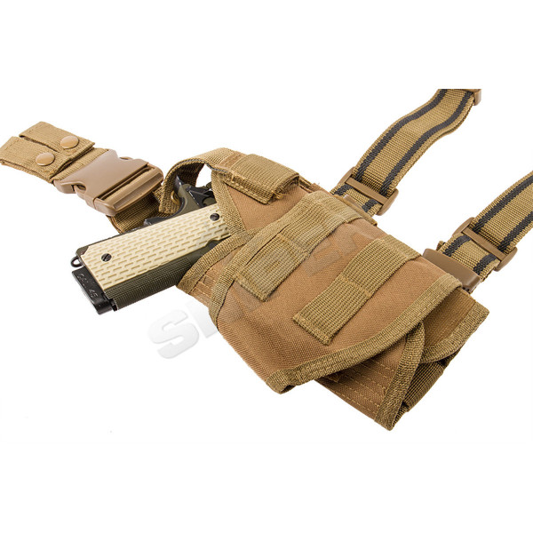 Modular Drop Leg Holster Tan