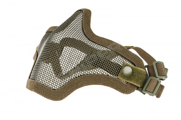 Mesh Lower Face Shield V1, Green