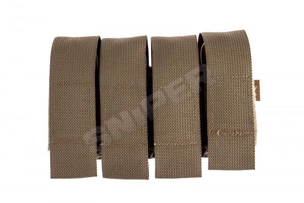 Quad 40mm Shell Velcro Pouch, Ranger Green
