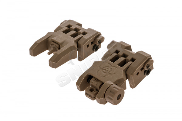 Flip Up Sight Set Gen.3, Tan